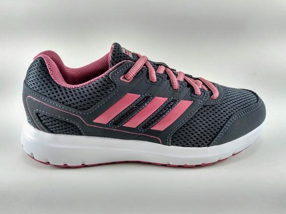 Tênis adidas Duramo Lite 2.0 Feminino Grafite/rosa