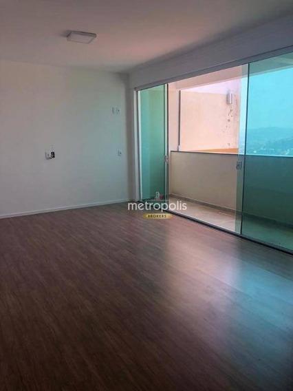 Apartamento Com 2 Dormitórios À Venda, 110 M² Por R$ 400.000 - Núcleo Colonial - Ribeirão Pires/sp - Ap3107