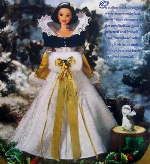 Disneys Snow White Holiday Princess Barbie