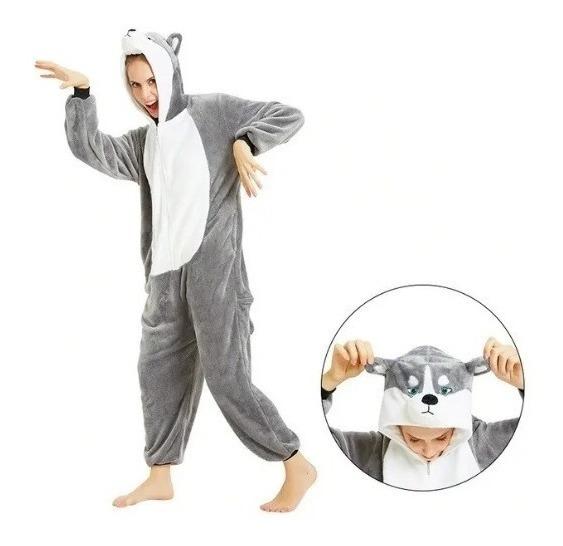 Pijama Kigurumi Niños Adultos Unicornios Animales Flannel