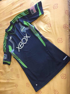 Jersey Techfit Seattle Sounders Local Talla L Reducida Nueva