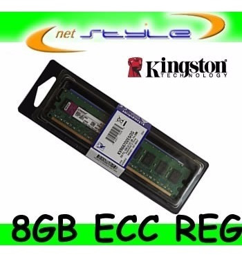 Kingston 8gb 1600mhz Reg Ecc Ktd-pe316lv/8g P/dell Poweredge