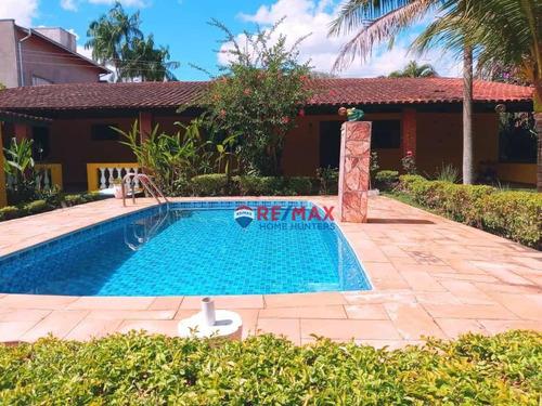 Imagem 1 de 30 de Chácara Com 2 Quartos À Venda, 1060 M² Por R$ 540.000 - Recanto Dos Dourados - Campinas/sp - Ch0132