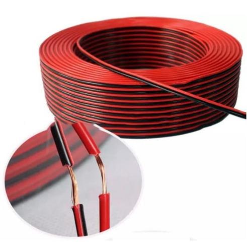 Cable Gemelo 1mm Bi Color Ideal Instalacion  X 5m