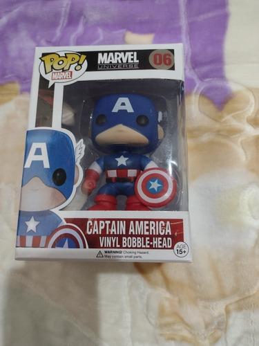 Funko Pop Captain America Nuevos