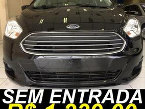 Ford Ka Se 1.5 Único Dono 2016 Preto