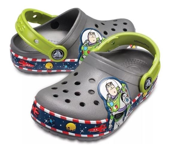 Crocband Originales Niños Buzz Lights Clog K Slate
