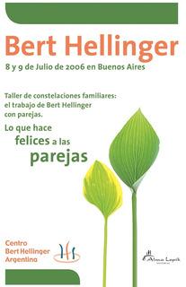 Bert Hellinger - Seminario En Buenos Aires 2006 Dvd