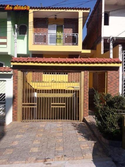 Sobrado Com 3 Dormitórios À Venda Por R$ 580.000 - Parque Continental Ii - Guarulhos/sp - So0196