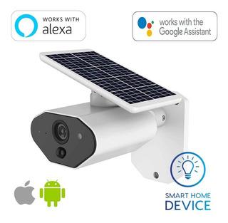 Camara Smart Wifi Ip Solar Fullhd Alexa Google Seguridad Ext