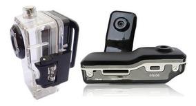 Mini Câmera Dv 32gb + Case (mergulhe E Filme A Vontade)