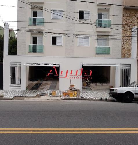 Apartamento Com 2 Dormitórios À Venda, 60 M² Por R$ 297.000,00 - Utinga - Santo André/sp - Ap1197