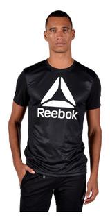 Tee Reebok Hombre Cf9981 Negro
