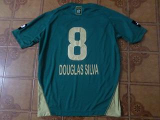 Camisa Coritiba Usada Jogo 8 Douglas Silva Gg