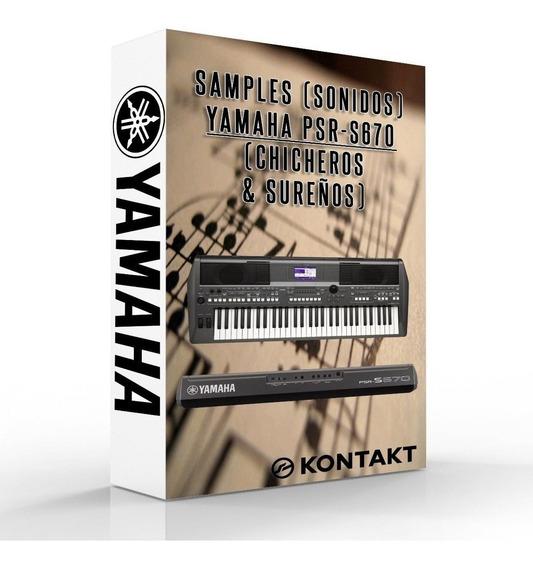 Ritmos Y Samples Para Yamaha Psr 670 -770 -775 -970 -975