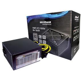 Fonte De Alimentação 1000 Watts Mymax 80+silver Fp1000