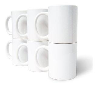Tazas Blanca Para Sublimar, Grado A, Caja Con 48 Piezas