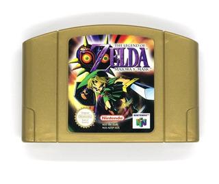 The Legend Of Zelda - Majoras Mask N64 Nintendo 64 Repro