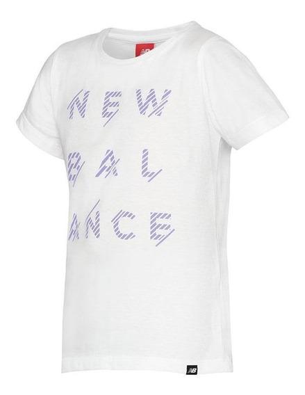 Remera Sportstyle Bco New Balance Niño