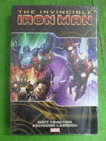 Hq The Invincible Iron Man Volume 2 - Fraction E Larroca