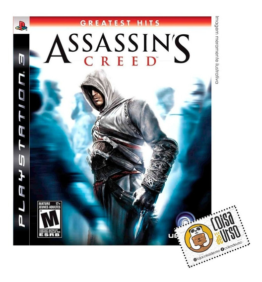 Assassins Creed Greatest Hits Ps3 (mídia Física)