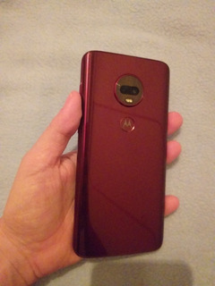 Moto G7 Plus Edición Especial Color Vino
