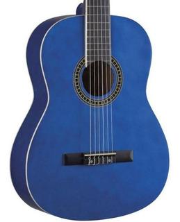 Violao Tagima Nylon Memphis Ac39 Colors Ac 39 Cor Azul