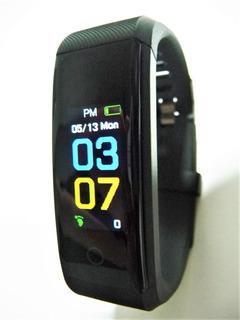 Relógio Pulseira Inteligente Smartband Pressão Arterial