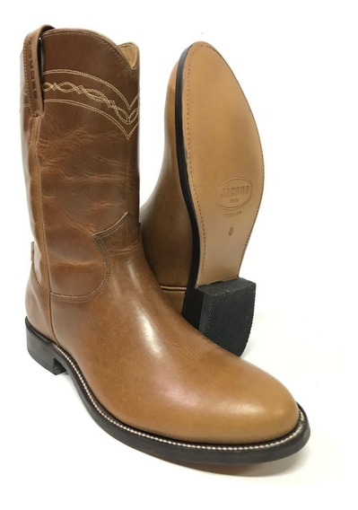 Bota Texana Country Masculina Jácomo Pull Up Havana 0401/c