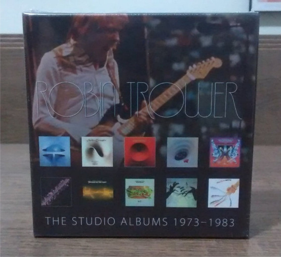 Robin Trower - The Studio Albums 1973 - 1983 - Box 10 Cds