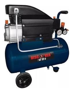 Compresor Con Doble Salida De Aire Jn9037 Discover 2hp
