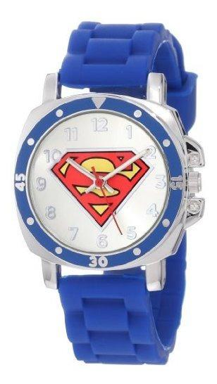 Superman Kids Reloj Con Logotipo X26quot Sup9012 X26quot S