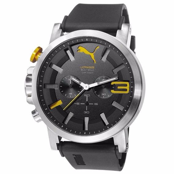 Relógio Puma Ultrasize 2 Amarelo