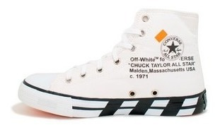 Botinha All Chuck Taylor Off White