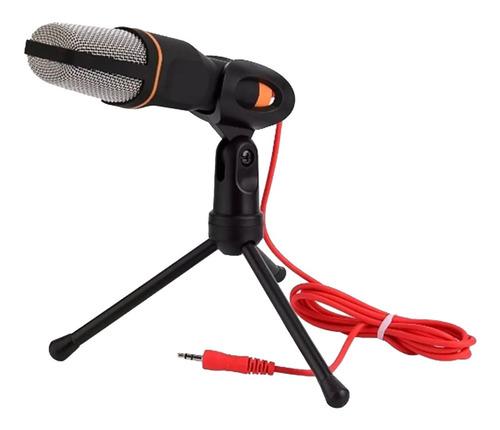 Microfono Tripode Escritorio Pipeta Podcast Streaming Envios