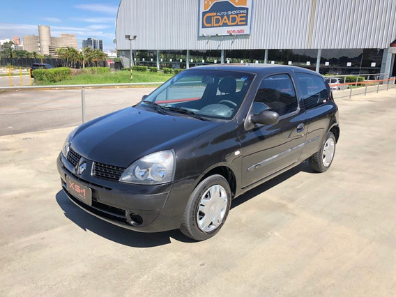 Renault Clio 2005, 1.0, 16v, Authentique, 3p, Completo