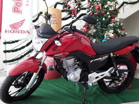 Honda Cg 160 Fan Inj Eletronic Flex 3 Anos De Garantia Honda