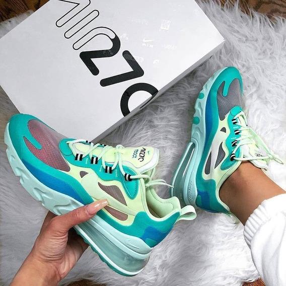 Tenis Zapatillas Promoción Nike 270 React Dama Mujer + Envío