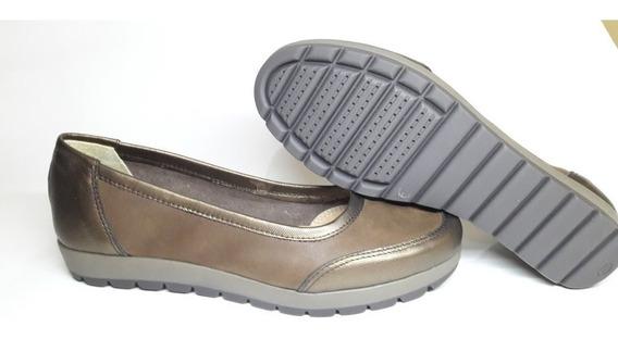 Zapatos Chatitas De Cuero Vacuno Mocasin Mujer