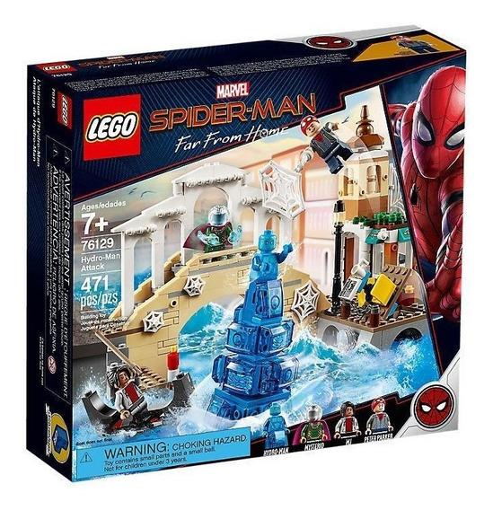 Lego Marvel Spiderman Lejos Casa Ataque De Hydro-man 76129