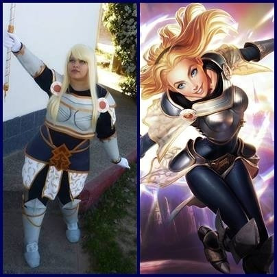 Cosplay Lux Leage Of Legens