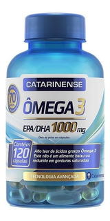 Ômega 3 Catarinense 1000mg Original C/120 Caps