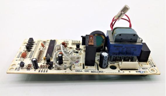 Placa Controle Microondas Philco Pms24 Pms18 Pme22 127v Nova