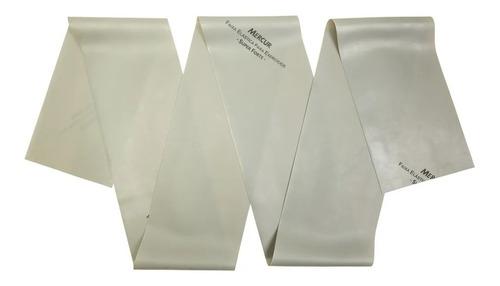 Imagem 1 de 5 de Faixa Elástica Para Exercícios Prata Super Forte - Mercur