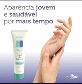Creme Para As Mãos - Luva De Silicone Hinode 100g