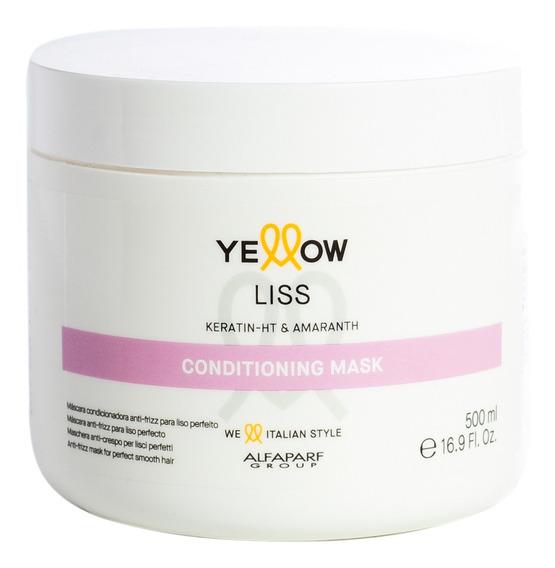 Alfaparf Yellow Liss Therapy Máscara Reconstruccion 500ml