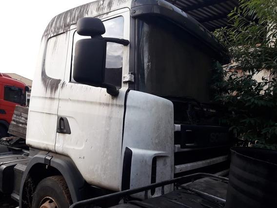 Scania R 124 420 6x4 Sucata