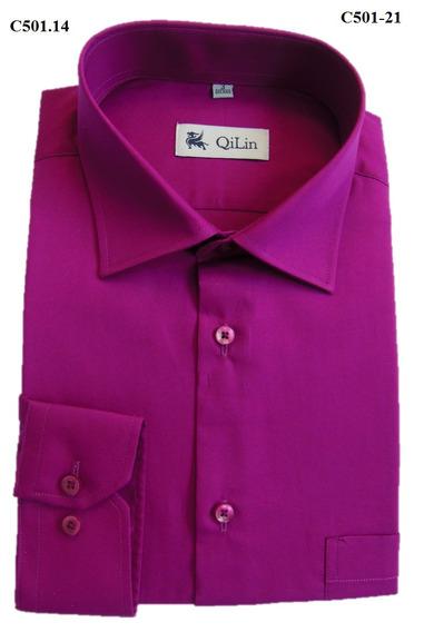Camisa Masculina Tradicional - Qilin