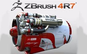 Zbrush 4r7 - Software De Modelagem E Ilustrações 3d - Win