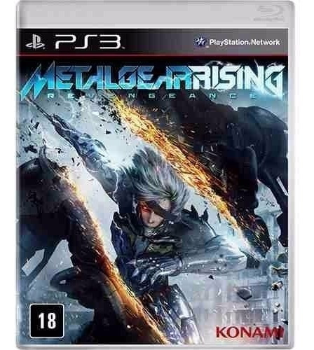 Metal Gear Rising - Jogo Ps3 Original - Midia Fisica Lacrado